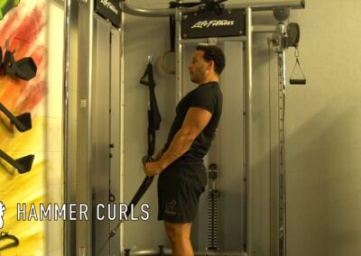 HAMMER CURLS CABLE
