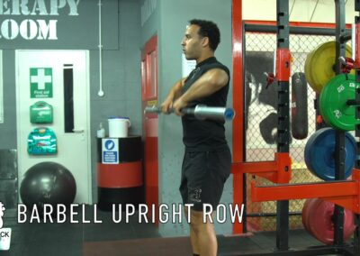 BARBELL UP RIGHT ROW