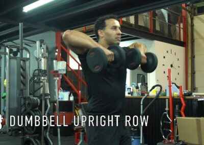 DUMBBELL UP RIGHT ROW