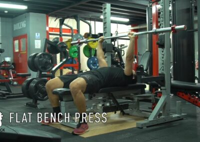 BENCH PRESS (FLAT BENCH)-