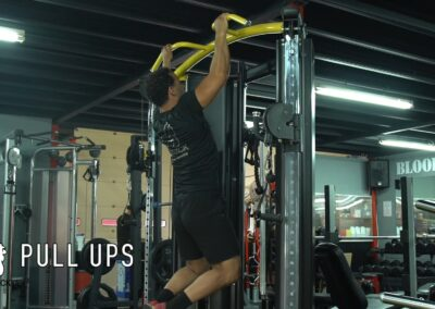 PULL UPS (DIFFERENT GRIPS)