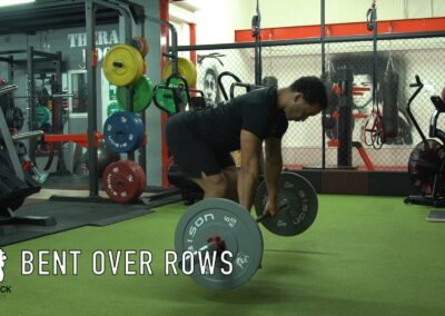 BENT OVER ROWS-