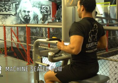 MACHINE SEATED ROWS