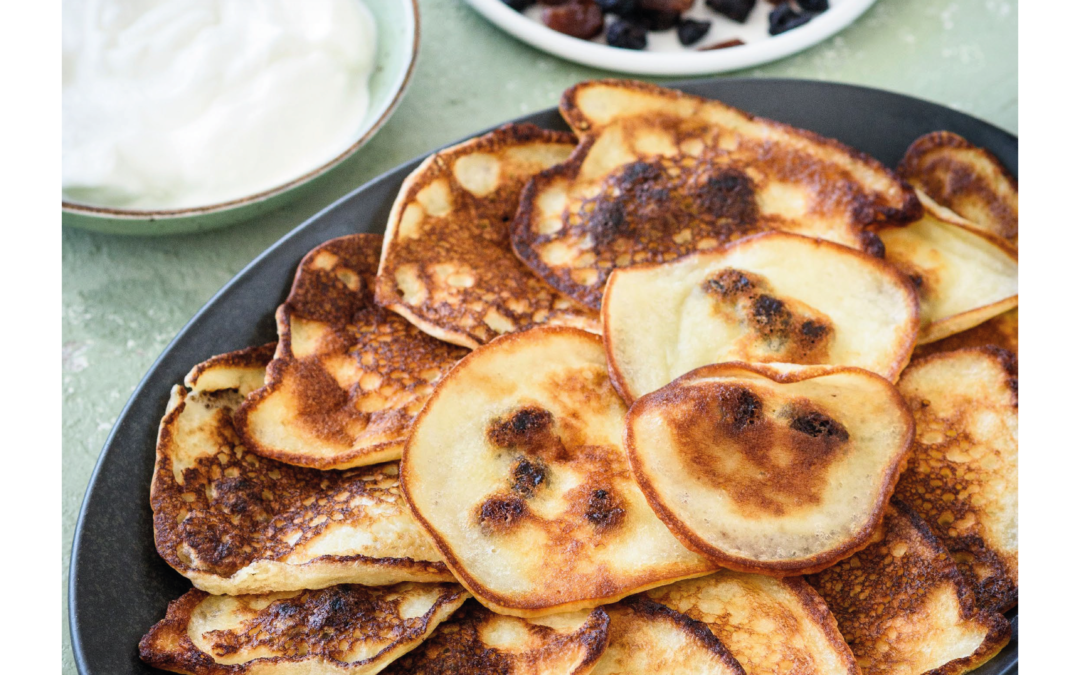 fruit pikelets