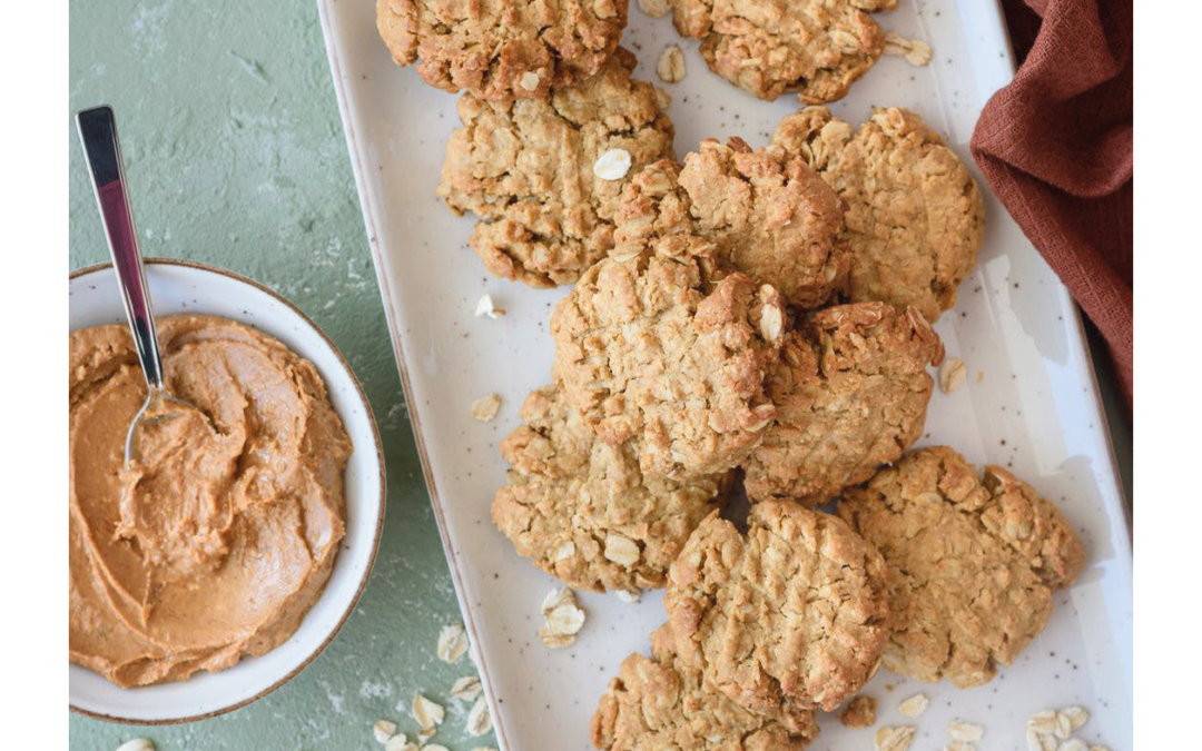 oatmeal protein cookies